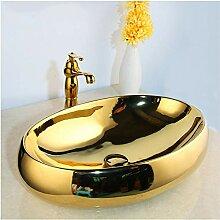 Lddpl Massivem Messing Goldene Luxus Keramik