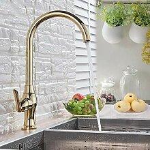 Lddpl Poliert gold bad küchenarmatur einzigen