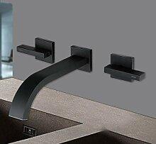 Lddpl Waschbecken Wasserhahn Mischer schwarz Bad