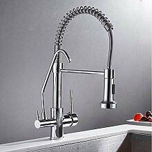 Lddpl Wasserhahn Chrom Küchenarmatur Kran Für