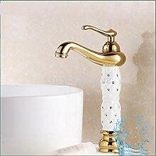 Lddpl Wasserhahn Einzelgriffe Deck Montiert Bad