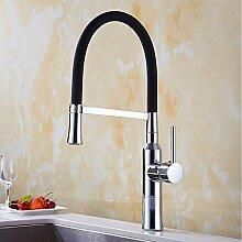 Lddpl Wasserhahn Küchenarmatur Chrom Messing