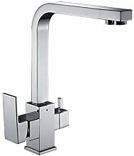 Lddpl Wasserhahn Küchenarmatur Doppelfunktion