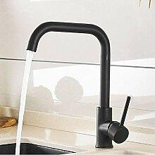 Lddpl Wasserhahn Küchenarmatur Schwarz 360 Rotate
