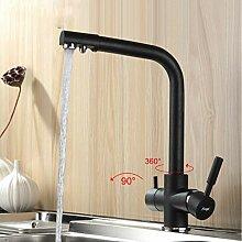 Lddpl Wasserhahn New Black Küchenarmatur Seven