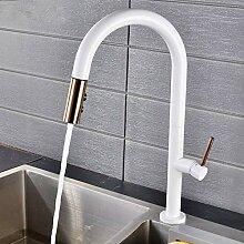 Lddpl Wasserhahn Schwarz Weiß Küchenarmatur