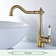 Lddpl Wasserhahn Waschbecken Wasserhahn Antik