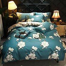 LDDPP Bettbezug-Set, gewaschene Baumwolle,