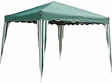 Ldk Garden 2080200–Mirador faltbar für Camping und Strand, 300x 300x 240cm, grün