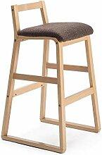 LDM Stuhl Rotbraune Kissen Holz Holzrahmen Moderne