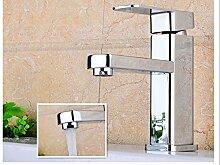 LDONGSH Galvanotechnik Einlochmontage Heiß Und Kalt Waschbecken Waschtisch Waschbecken Badezimmerschrank Zeichnen Tap Tap