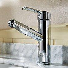 LDONGSH Kann Typen Ziehen Dusche Waschbecken Küche Heiß Und Kalt Toiletten Duschen Galvanik Wasserhähne TAP