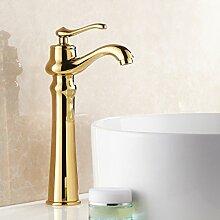 LDONGSH Kupfer Heißes Und Kaltes Wasser Retro Galvanik Sitzend Im Europäischen Stil Im Amerikanischen Stil Satiniert Waschbecken Bubbler Tippen