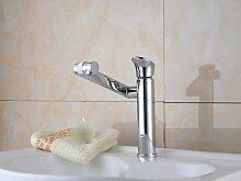 LDONGSH Kupfer Küche Drehen Im Europäischen Stil Im Amerikanischen Stil Satiniert Waschbecken Bubbler Sitzt Tippen