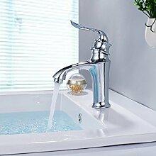 LDONGSH Single Einlochmontage Heiß Und Kalt Bad WC Waschbecken Tap Tap