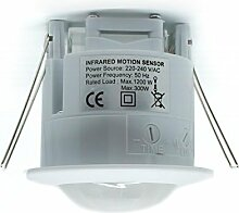 LDS Infrarot-Einbau-Bewegungsmelder (PIR-Sensor,