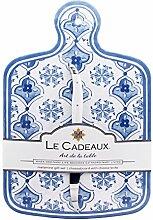 Le Fußmatte Cadeaux Moroccan Blue Melamin