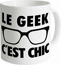 Le Geek Becher, Weiß