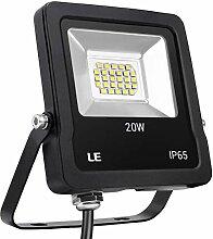 LE LED-Flutlicht, 20 W, 1600 Lumen, 200 W