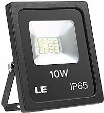 LE LED Strahler, 10W 800lm superhell Flutlicht,