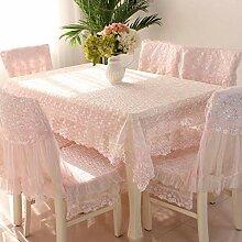 LE Makramee Spitze Tischdecke für Hochzeit,