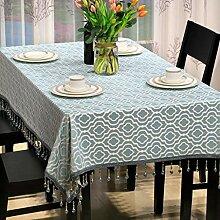 LE Moderne einfache Tischdecke für Esszimmer,