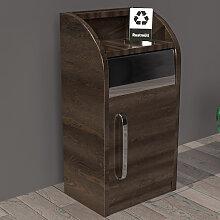 LEA   Gastro Abfallbehälter   80 Liter   Holz LEA