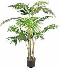 Leaf Künstliche Areca-Palme mit Topf, 120 cm