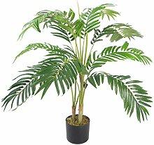 Leaf Künstliche Areca-Palme mit Topf, 90 cm