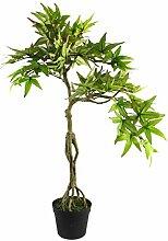 Leaf Künstlicher Bonsai-Baum, Ahorn, 60 cm
