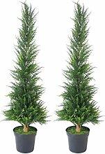 Leaf Künstlicher Buchsbaum, Zypresse, 120 cm,