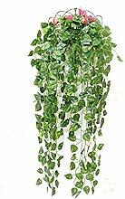 Leaf Lange künstlichen Pflanzen Grün Dill Blätter Fake Laub Blätter Home Hochzeit Dekoration