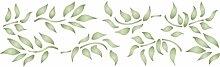 Leaf Schablone,-32x