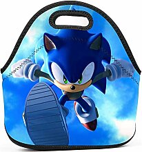 Leakproof Lunch Tote,Blue Shadow Sonii-Hedgehog