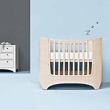 Leander Babybett aus Holz in Whitewash inkl.