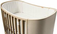 Leander Nestchen für Babybett aus Baumwolle in
