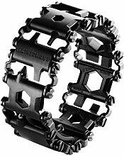 Leatherman TREAD Metrisch schwarz black Armband