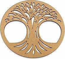 Lebensbaum aus Holz 30cm schöne Geschenkidee