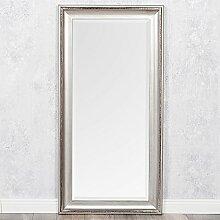 LEBENSwohnART Spiegel COPIA 120x60cm Silber-Antik