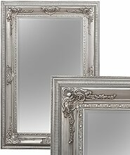 LEBENSwohnART Spiegel Eve 120x80cm Antik-Silber