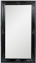 LEBENSwohnART Spiegel Eve 180x100cm Shiny-Black