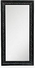 LEBENSwohnART Spiegel Fiora 100x50cm Shiny-Black