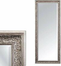 LEBENSwohnART Spiegel Fiora 140x50cm Antik-Silber