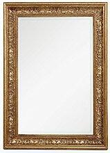LEBENSwohnART Spiegel Fiora 70x50cm Antik-Gold