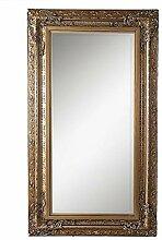 LEBENSwohnART Spiegel Jacob 180x100cm Antik-Gold