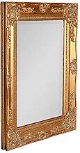 LEBENSwohnART Spiegel Leonie barock Gold-antik