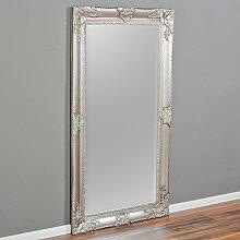 LEBENSwohnART Spiegel Marlon-XL Silber 180x100cm