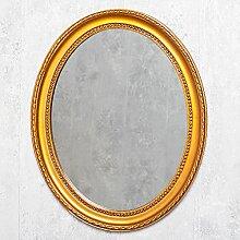 LEBENSwohnART Spiegel Nerina 50x40cm Gold-antik