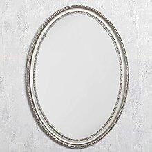 LEBENSwohnART Spiegel Nerina 70x50cm Silber-antik