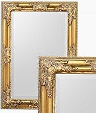 LEBENSwohnART Wandspiegel BESSA gold antik 70x50cm